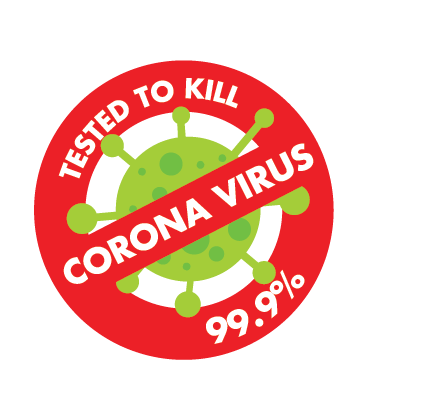 Kills 99.9% Human Coronavirus